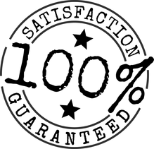a 100% satisfaction button for fence installation company in El Paso