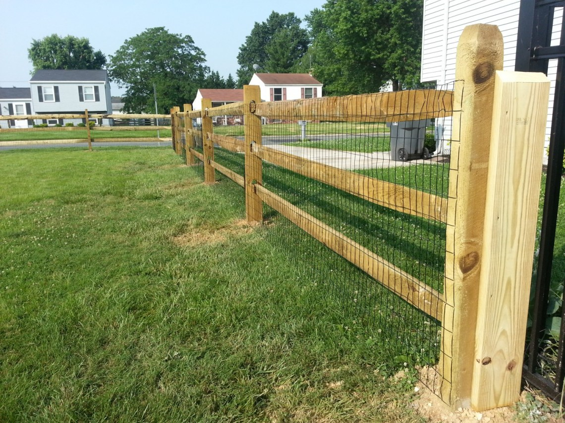 Image Result For Wood Chain Link Fence