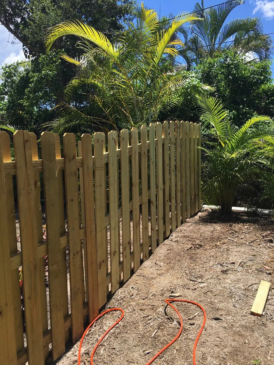 a fence repair job in Wichita Falls Texas