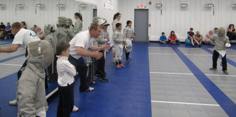 Team FAB Youth Saber Tournaments