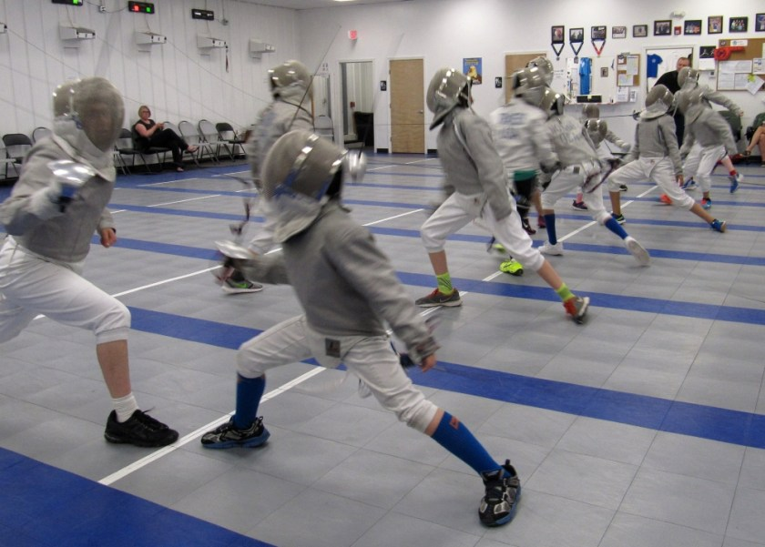 Youth Competitive Fencing Academy of Boston