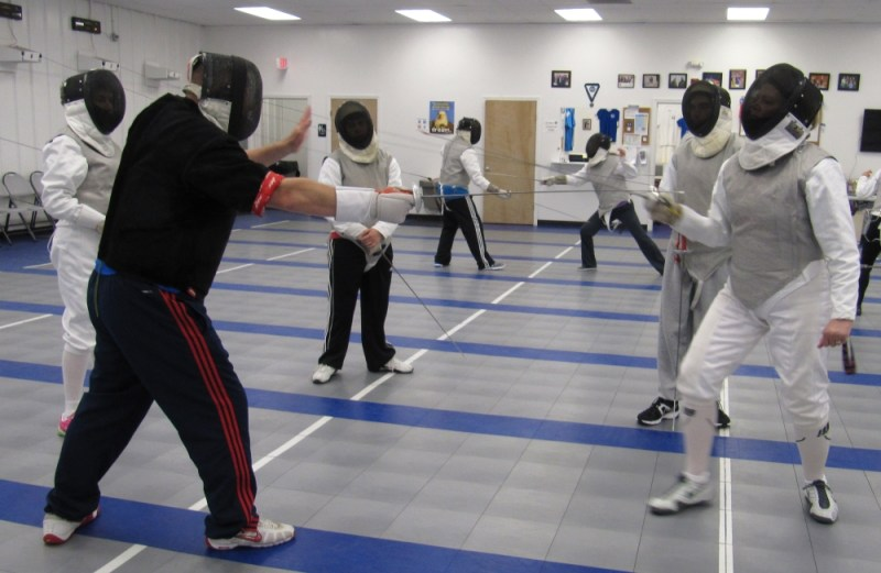 Adult Intro Fencing classes Boston