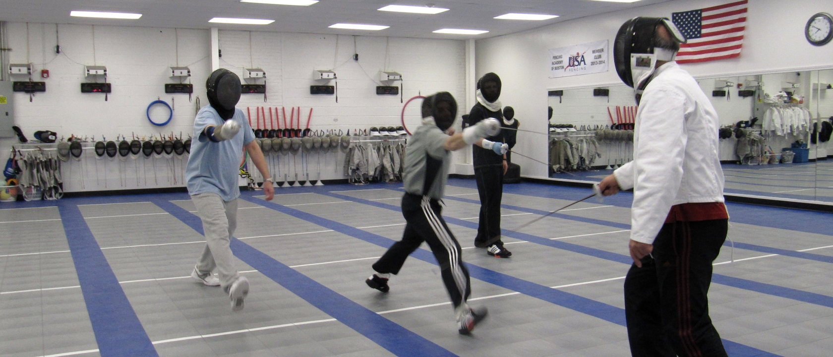 Adult Fencing Programs