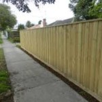 Lapped and Capped Fencing