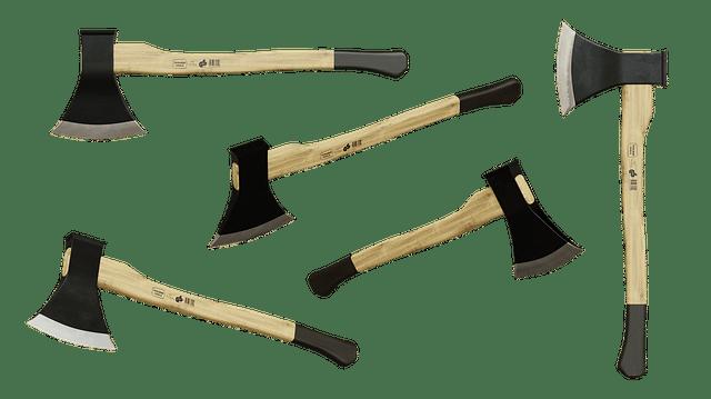 haches pour fendre le bois