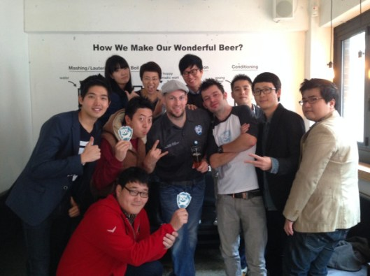 Officially launching BrewDog in Seoul