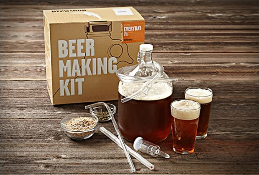 BEER MAKING KIT BY BROOKLYN BREW SHOP