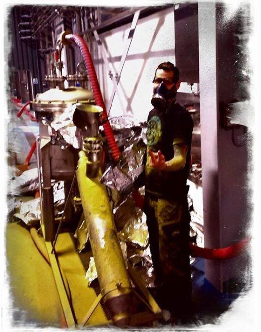 Janó munka közben (a képet ő küldte)
