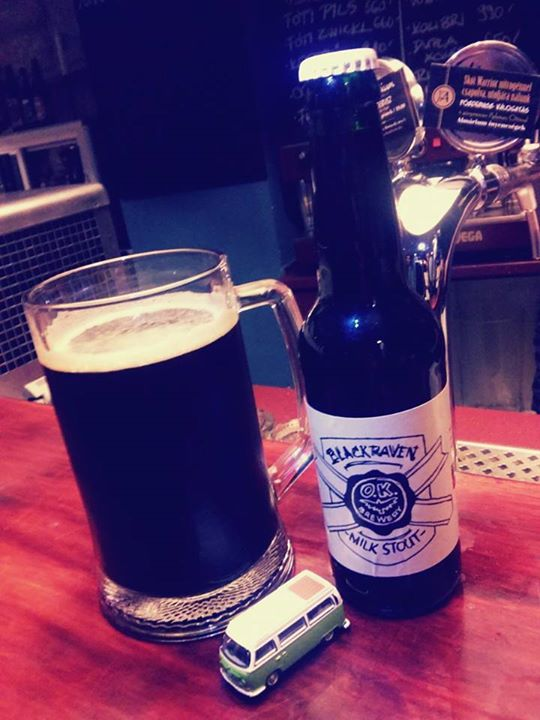 O.K. Brewery Black Raven Milk Stout