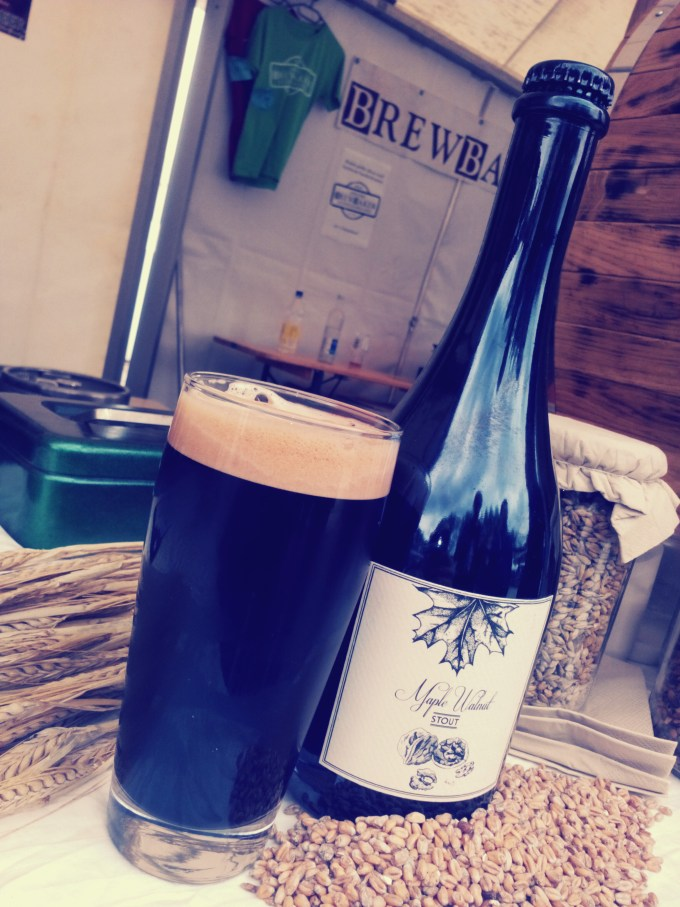 Bierfabrik Berlin / Spent Maple Walnut Stout