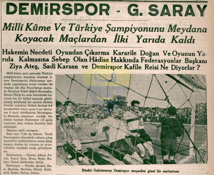 Galatasaray Resmî Bir Kulüp Yayınında 1959 Öncesi Şampiyonlukları Kabul Etti