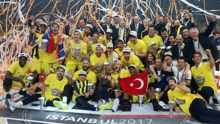 21 Mayıs 2017 : Fenerbahçe Basketbolda Euroleague Şampiyonu
