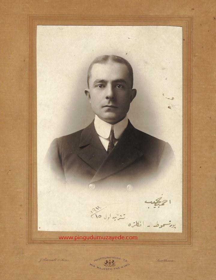 Necip Okaner'in 1911 Tarihli Fotoğrafı