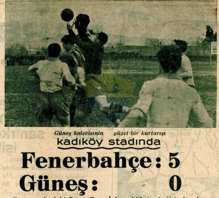 Naci Barlas'ın Fenerbahçe Hatıraları-III