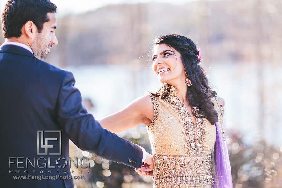 Atlanta Ismaili Indian Wedding - Nikkah Reception at Foxhall