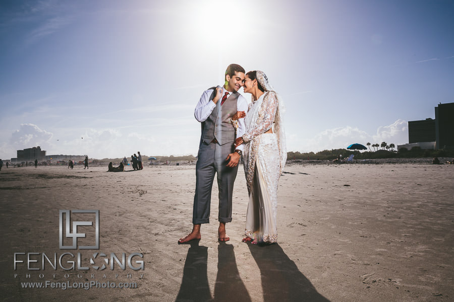 Cocoa Beach Destination Indian Ismaili Wedding - Nikkah