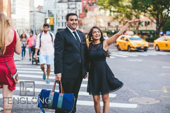 SoHo New York City Indian Engagement Session