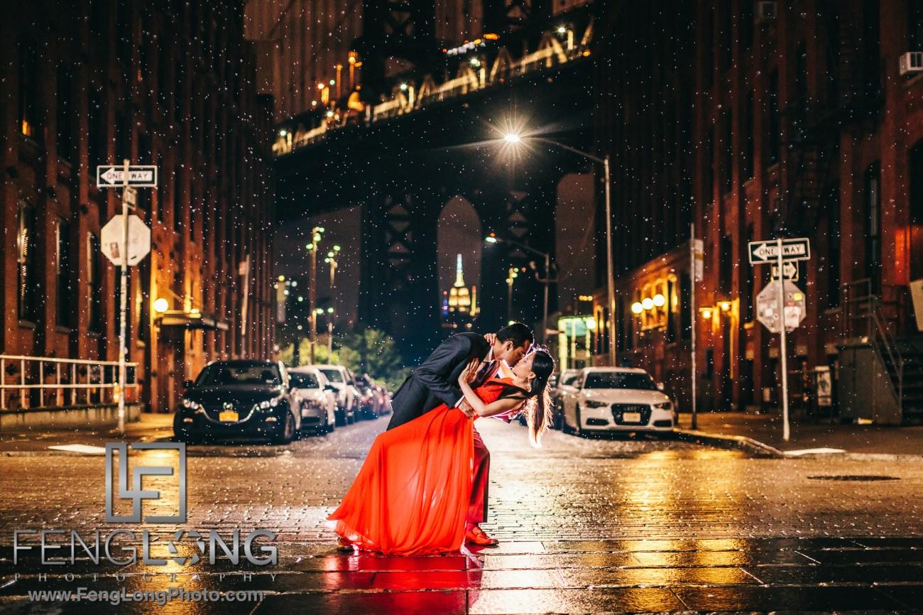DUMBO Brooklyn Bridge Vietnamese Indian Fusion Engagement