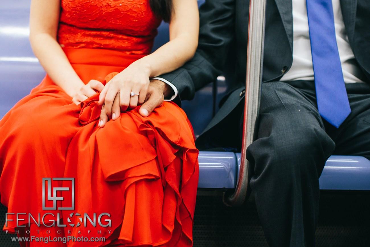 New York Subway Indian Fusion Engagement