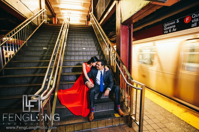 New York Subway Indian Fusion Engagement