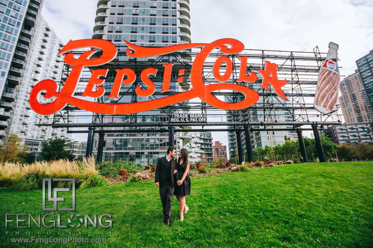 Long Island City New York Engagement Photography