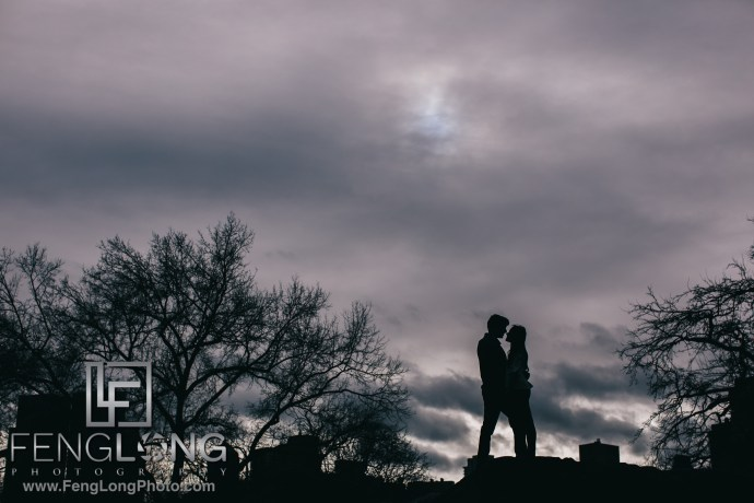 New York City Indian Wedding engagement session in Central Park