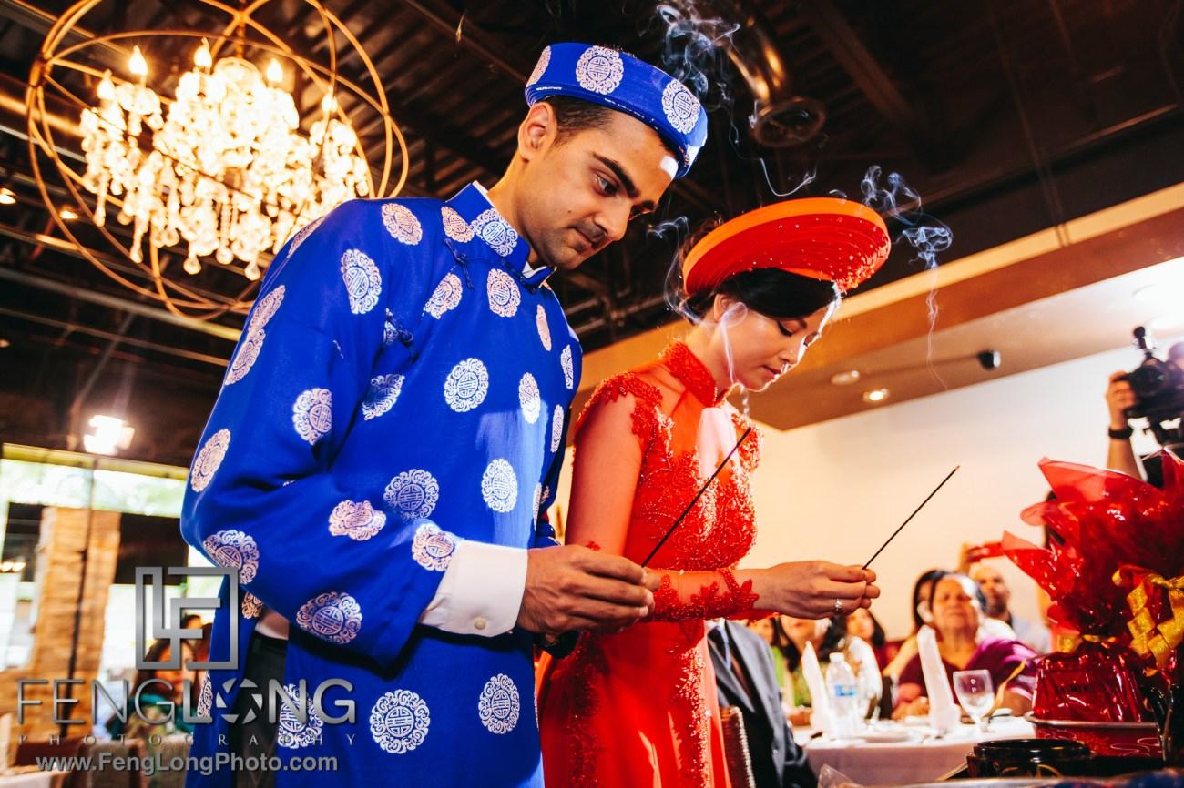Fusion Vietnamese Indian Wedding in Washington, DC