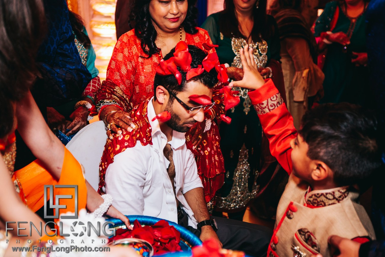 Atlanta Ismaili Indian Wedding Pithi Sangeet at Al-Noor Banquet Hall