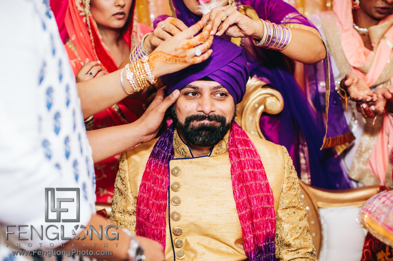 Fusion Sikh Indian Wedding at Glen Cove Gurdwara New York