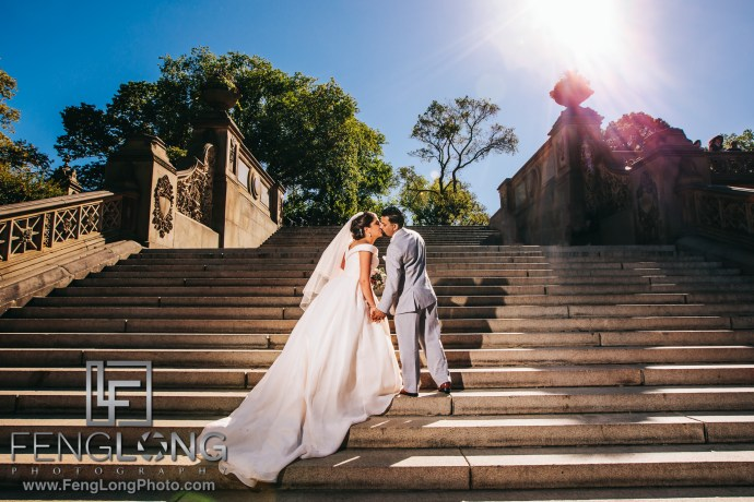 Fusion Sikh Indian Wedding in Central Park New York City