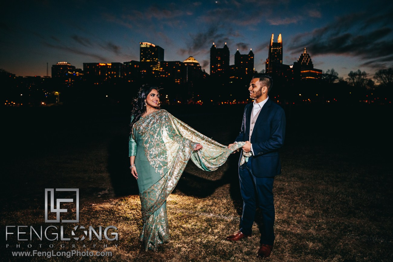 N & A Engagement Session Piedmont Park