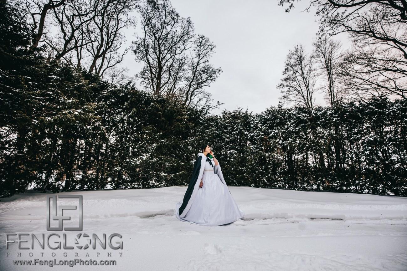 Upstate New York Chinese Winter Wedding