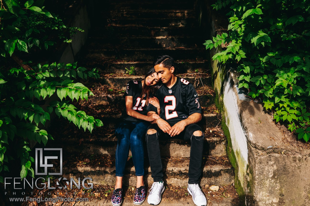 Shibani & Ashish Atlanta Indian Engagement Session
