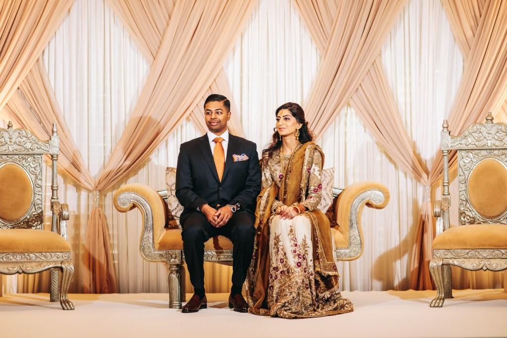 Atlanta Indian Wedding at Fox Theatre & Intercontinental Buckhead - Sundus & Harris