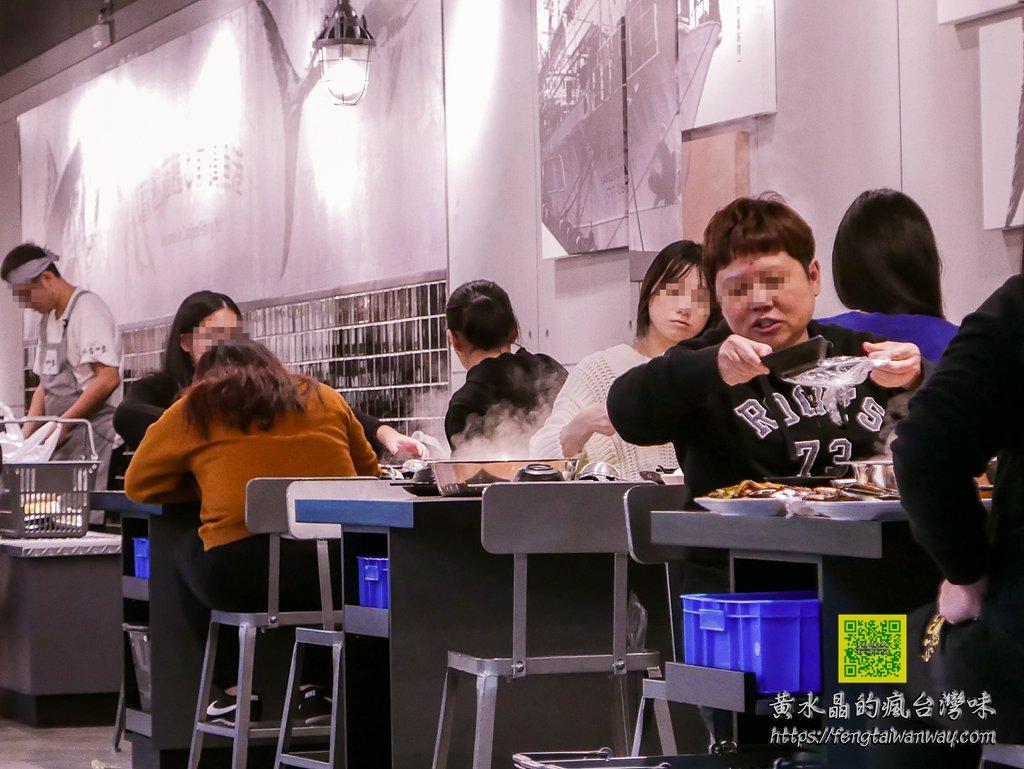 祥富水产桃园家乐福经国店【桃园美食】|火锅店也吹超市风;完全自主的无菜单火锅店 @黄水晶的疯台湾味