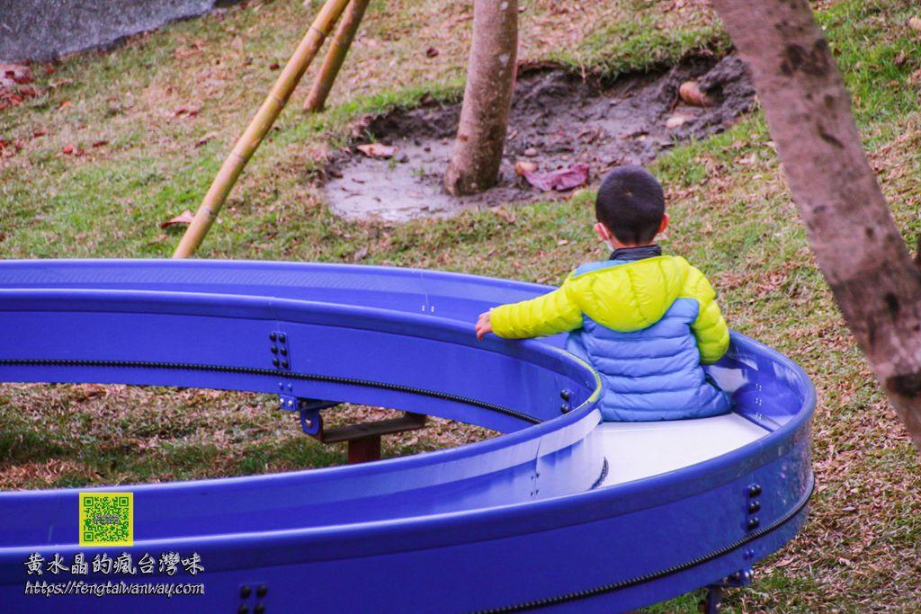 风禾公园溜滑梯【桃园景点】︱自日本引进50公尺滚轮溜滑梯桃园公园竟然飘出冲绳味 @黄水晶的疯台湾味