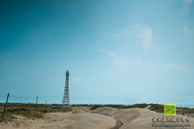 國聖燈塔【台南景點】|台灣本島最西極點秘境;西部台版撒哈拉沙漠
