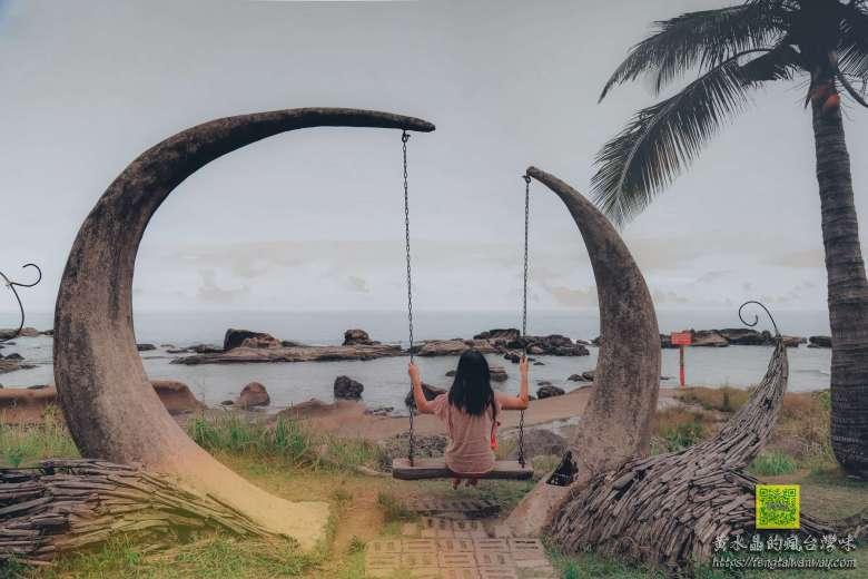 項鍊海岸工作室【花蓮美食景點】|台11線石梯坪海景第一排必拍的阿美族原住民海洋風味餐廳 @黃水晶的瘋台灣味