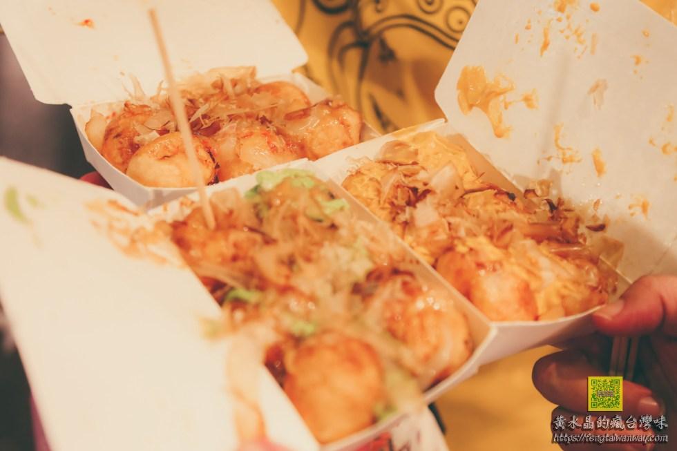 墨醬章魚燒廣東店【屏東美食】 周日限定恆春夜市超大攤的高人氣排隊章魚燒 @黃水晶的瘋台灣味