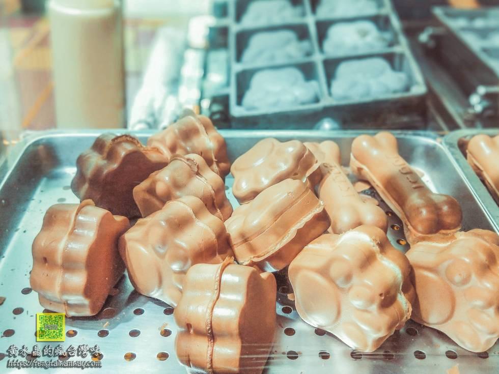 無名雞蛋糕【桃園美食】 桃園火車站遠東百貨前的無名貓手燒&狗骨燒 @黃水晶的瘋台灣味
