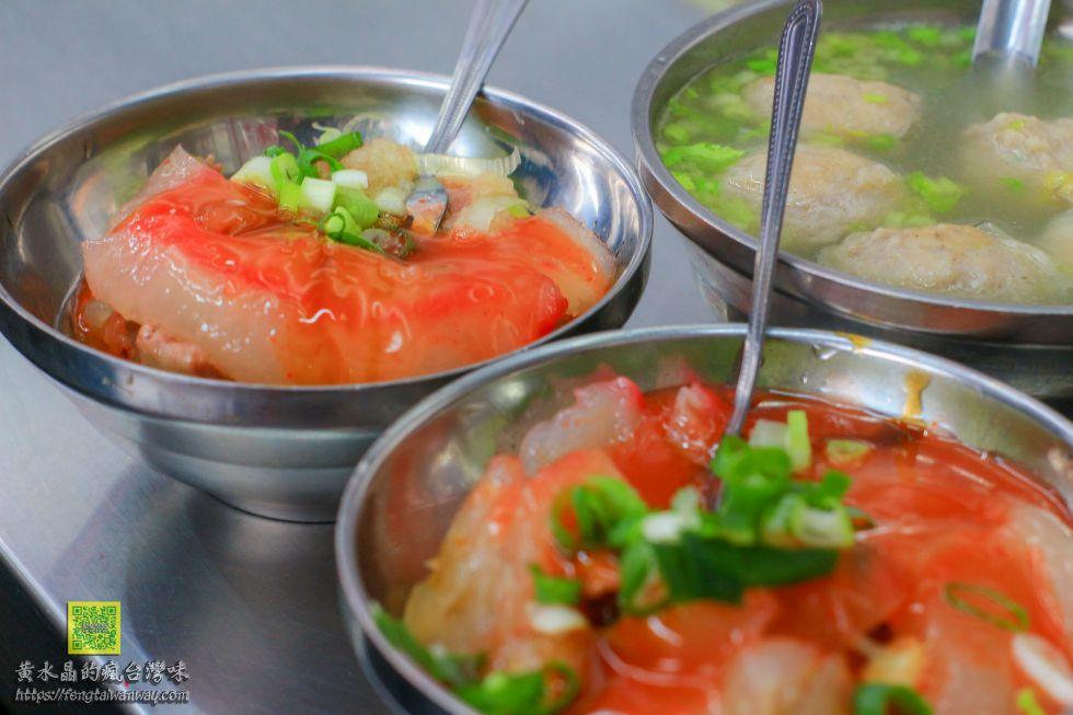 林家肉圓【新竹美食】|城隍廟旁必吃的高人氣肉圓小吃美食 @黃水晶的瘋台灣味