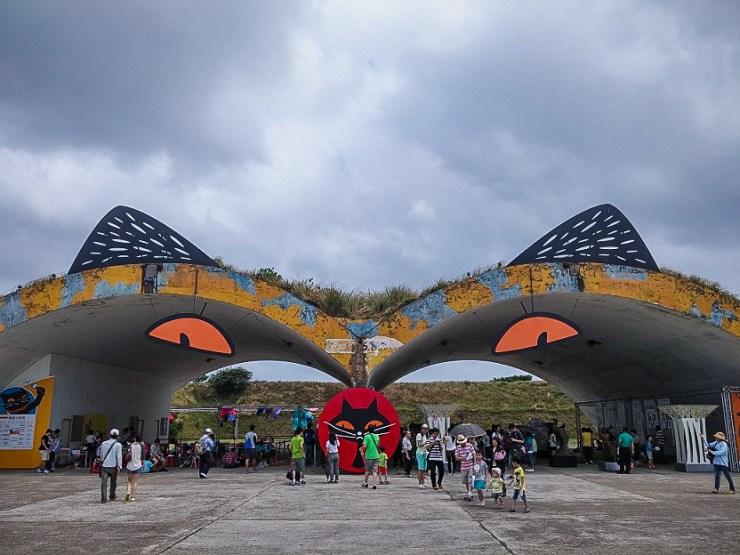 2014桃園地景藝術文化節【桃園景點】|黑貓中隊、六道輪迴及其它藝術地景創作。 @黃水晶的瘋台灣味