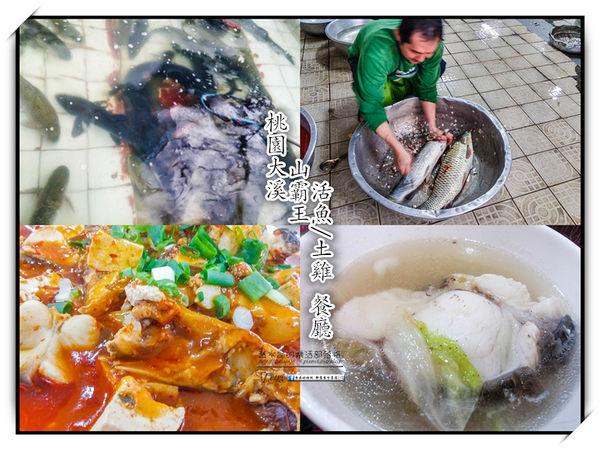 山霸王活魚土雞餐廳【大溪美食】|石門水庫老字號活魚山產餐廳 @黃水晶的瘋台灣味