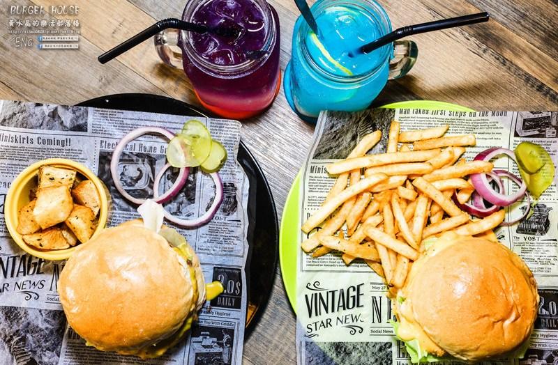 THE BurgeR HousE【桃園美食】|桃園八德美式漢堡餐廳;低調卻很有個性的漢堡店。 @黃水晶的瘋台灣味