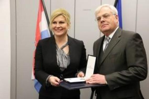 Kolinda Grabar Kitarović i Michaela Haußner /Foto: Fenix