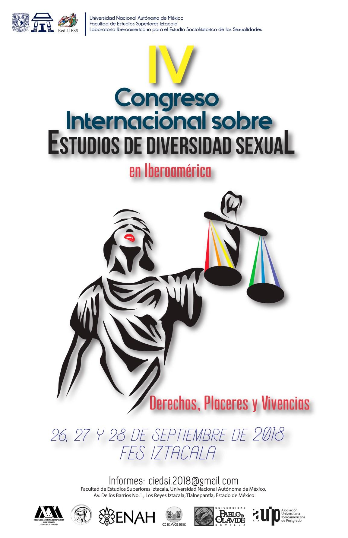 CARTEL IV Congreso_Diversidad Sexual_2018