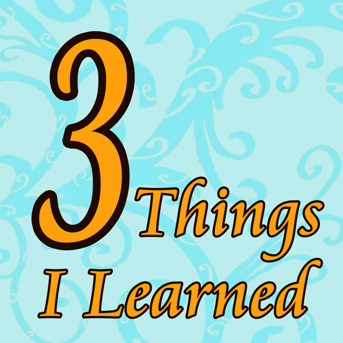 Image result for pictures of 3 things I learned