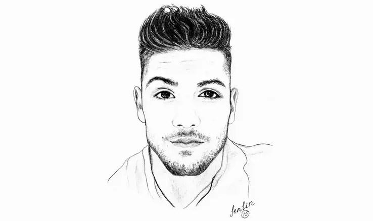 Портрет карандашом – лучший подарок мужчине. Портреты карандашом - Fenlin.ru