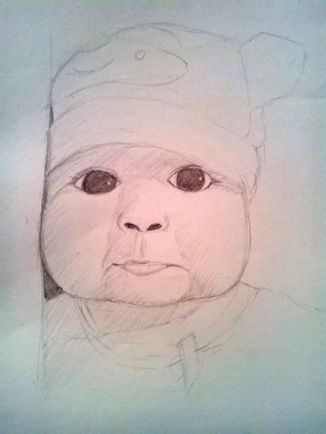 Как нарисовать ребенка? Шаг 10. Портреты карандашом - Fenlin.ru