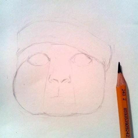 Как нарисовать ребенка? Шаг 7. Портреты карандашом - Fenlin.ru